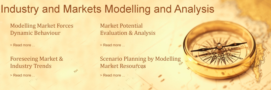 Industry and markets modelling, analysis and scenario planning